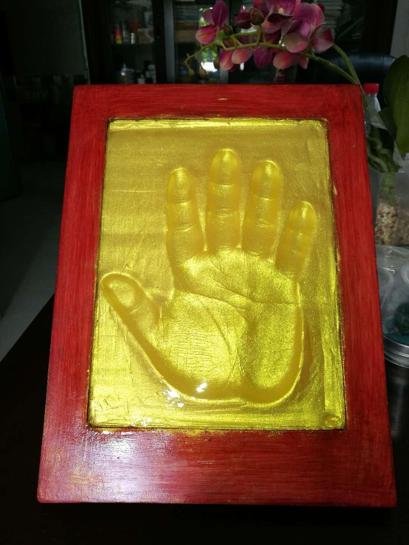 手印硅胶泥